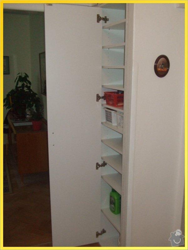 Skříňky, poličky, dokončení kuchyně, obložka...: 068