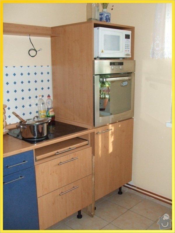 Dodělání kuchyňské linky: 089