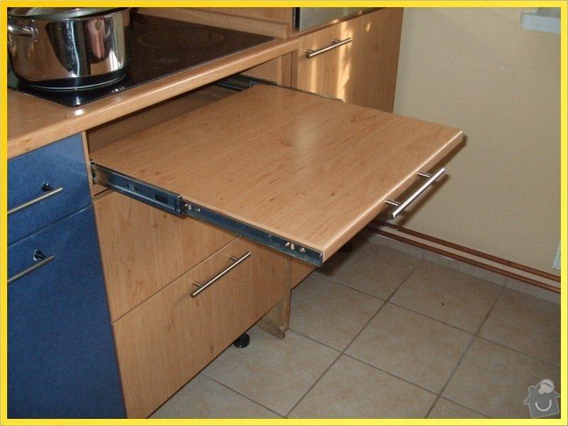 Dodělání kuchyňské linky: 090