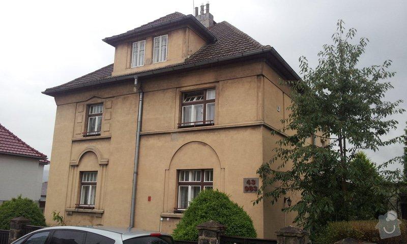 Rekonstrukce střechy RD: rdlounska