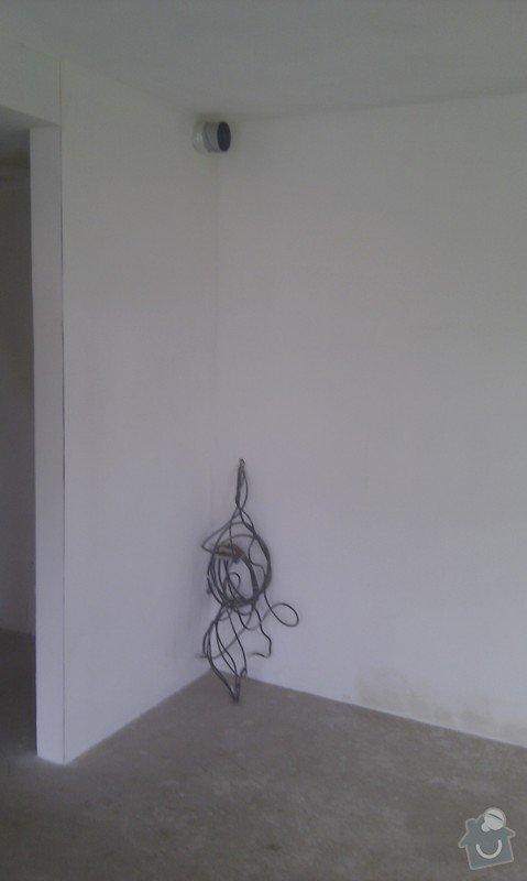 Příprava připojení pro kuchyň a sádrokartonový podhled: IMAG0108
