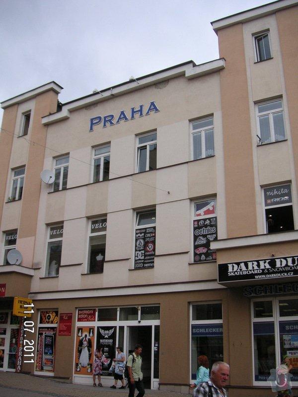 Drobná oprava fasády budovy, Gen., Svobody 20, Šumperk : PICT1291