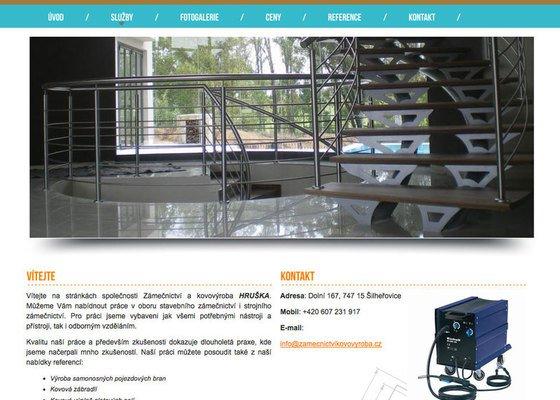 Tvorba webu zámečnictví