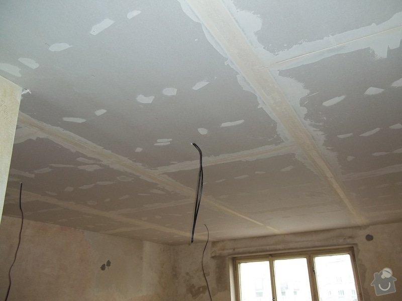 Snížené podhledy pro elektro-rozvody: 104_0593