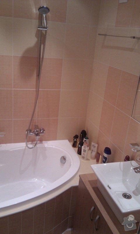 Rekonstrukce koupelny,kuchyně Proskovická: IMAG0343