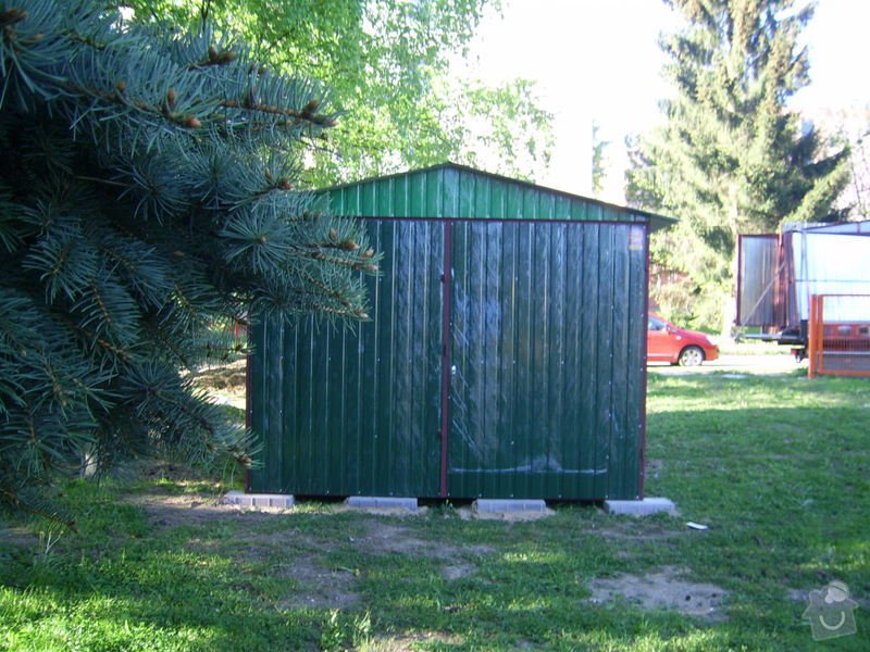 Plechová garáž: SSA40552
