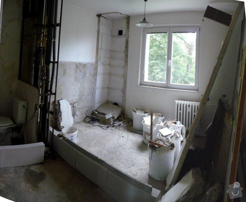 Rekonstrukce bytu 2+1 - bourací práce, jádro, podlahy: 31_vybourane_jadro