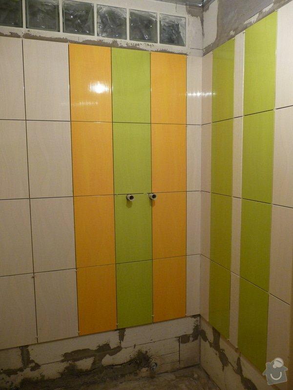 Rekonstrukce bytu 2+1 - bourací práce, jádro, podlahy: 34_koupelna_obkladani