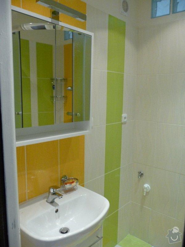 Rekonstrukce bytu 2+1 - bourací práce, jádro, podlahy: 35_koupelna_hotovo