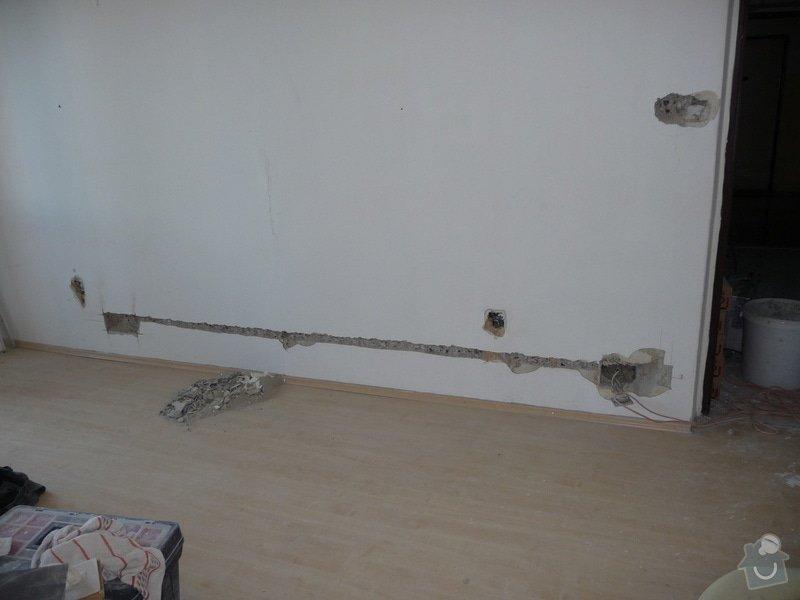 Rekonstrukce bytu 2+1 - bourací práce, jádro, podlahy: 41_elektrika