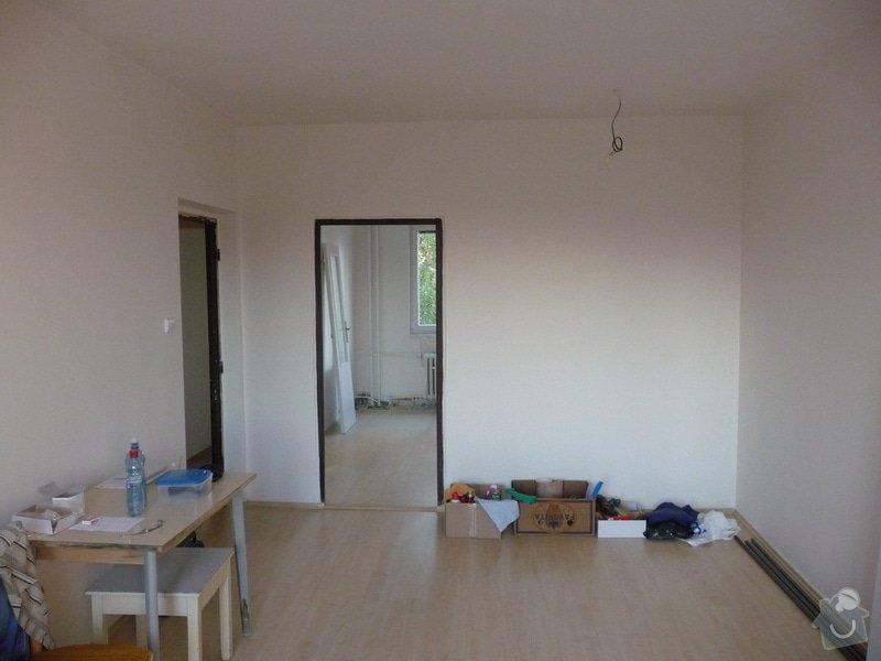 Rekonstrukce bytu 2+1 - bourací práce, jádro, podlahy: 45_pokoj_hotovo