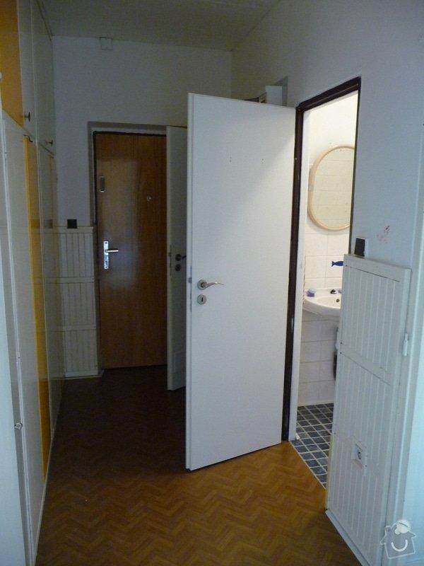 Rekonstrukce bytu 2+1 - bourací práce, jádro, podlahy: 50_puvodni_chodba