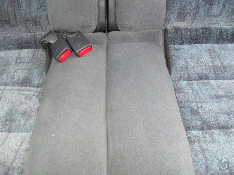 Tepování sedadel: SDC11510