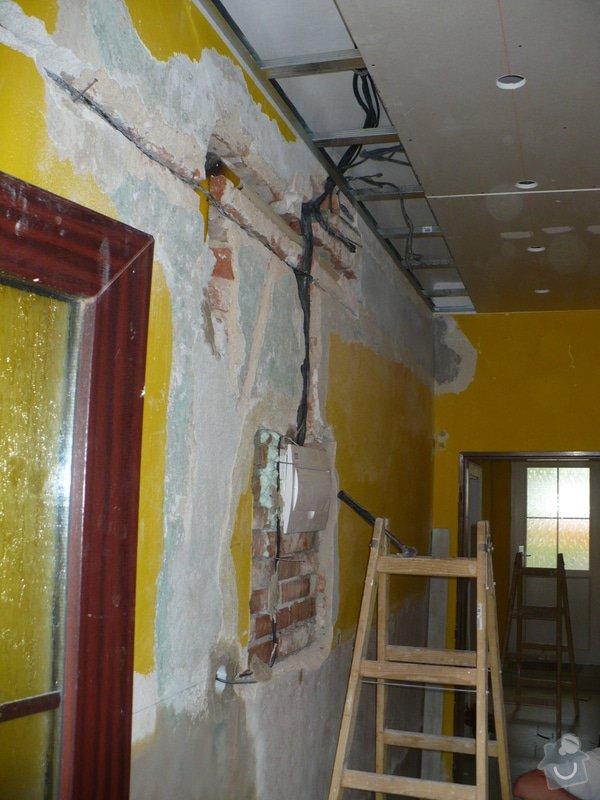 Malířské, elektroinstalační a sádrokartonářské práce v domě: P1040859