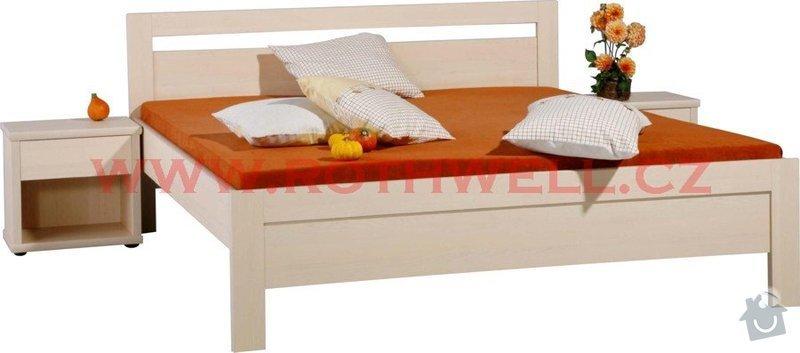 Výroba postele na míru, včetně roštu: karlo-orez