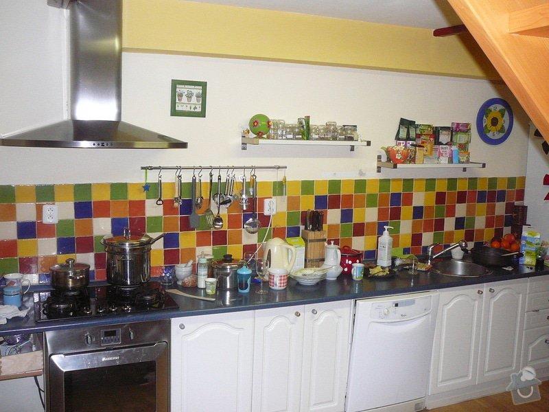 Obklady + kuchyňská linka: P1020915