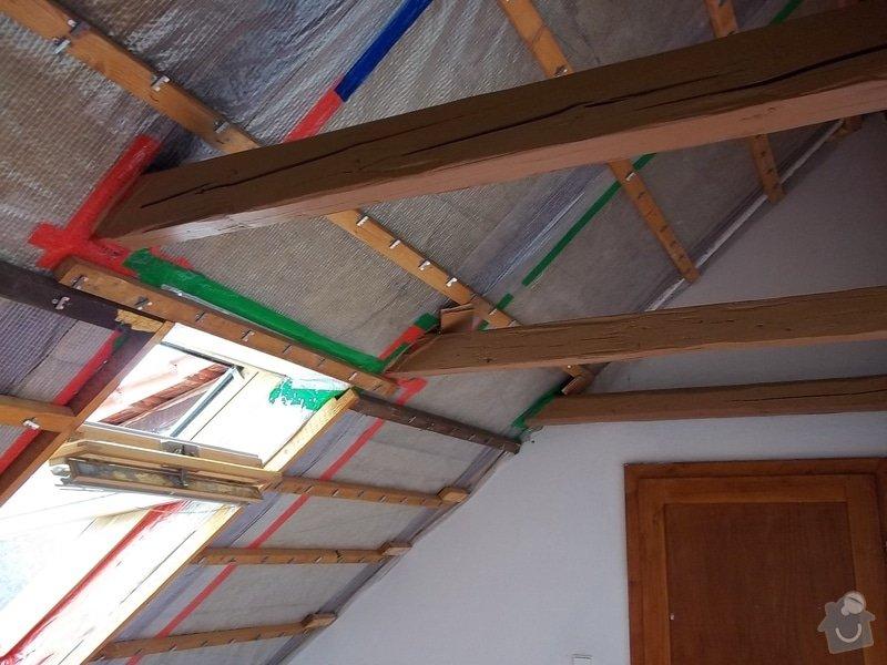 Rekonstrukce podkrovního pokoje: 104_0404