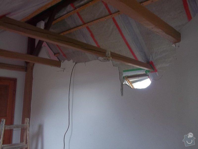 Rekonstrukce podkrovního pokoje: 104_0406