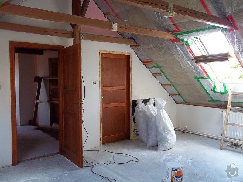 Rekonstrukce podkrovního pokoje: 104_0407