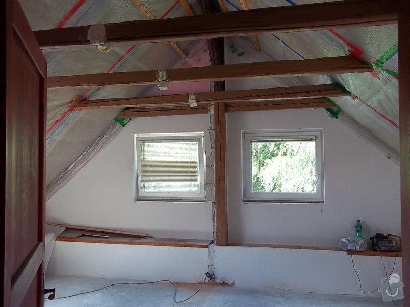 Rekonstrukce podkrovního pokoje: 104_0408