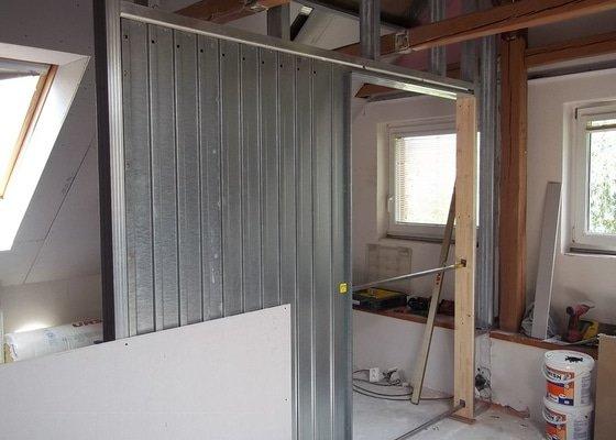 Rekonstrukce podkrovního pokoje