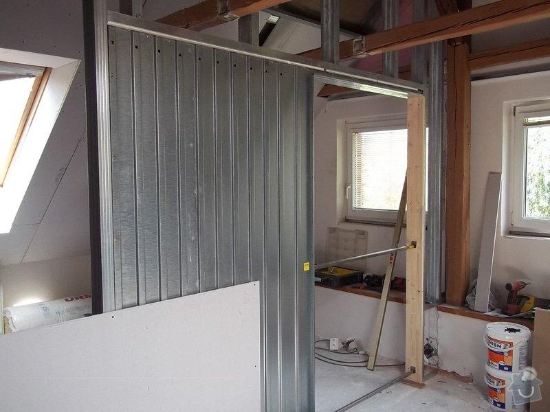 Rekonstrukce podkrovního pokoje: 104_0414