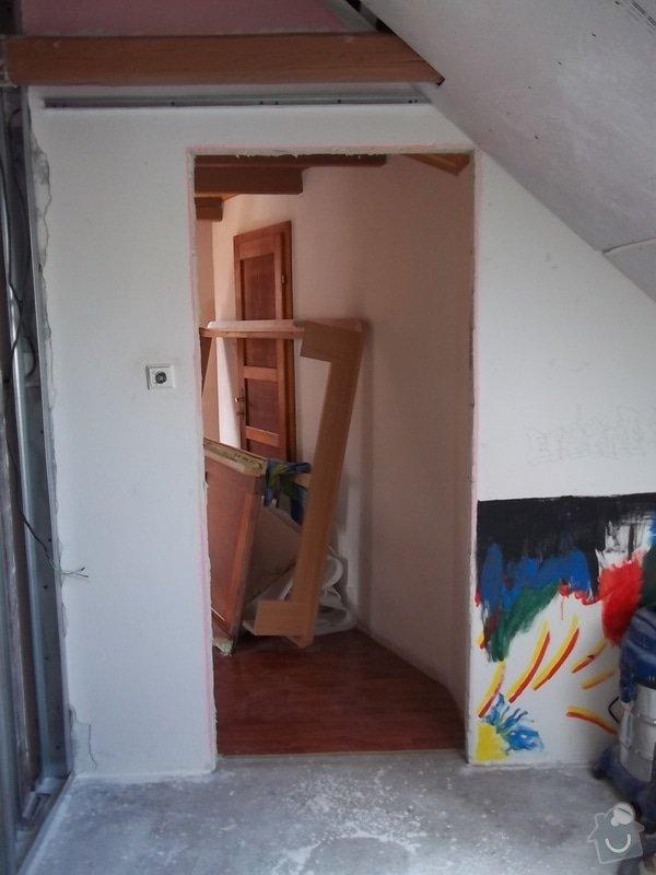Rekonstrukce podkrovního pokoje: 104_0416