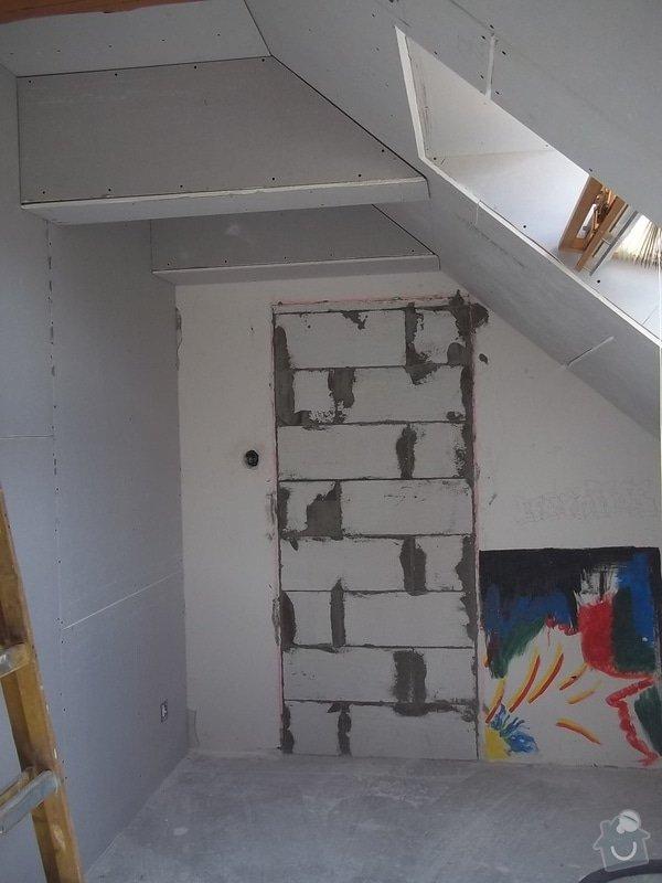 Rekonstrukce podkrovního pokoje: 104_0419