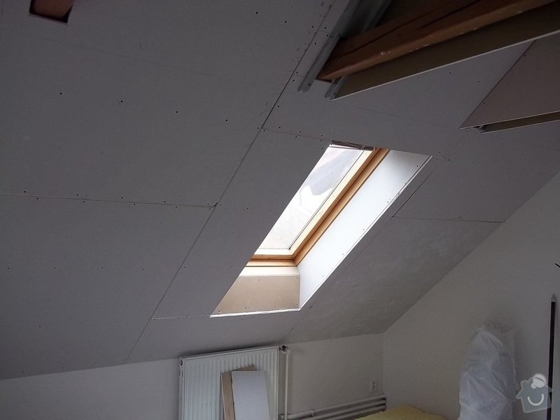 Rekonstrukce podkrovního pokoje: 104_0420