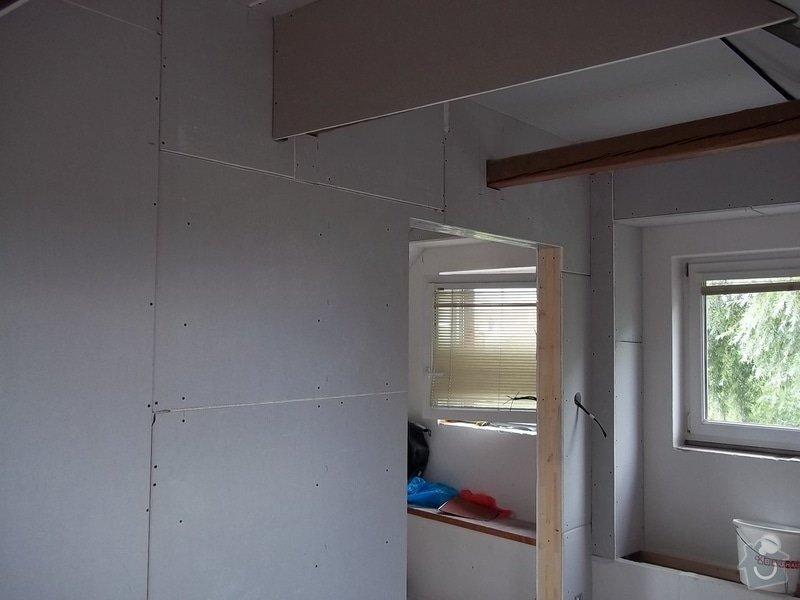 Rekonstrukce podkrovního pokoje: 104_0421