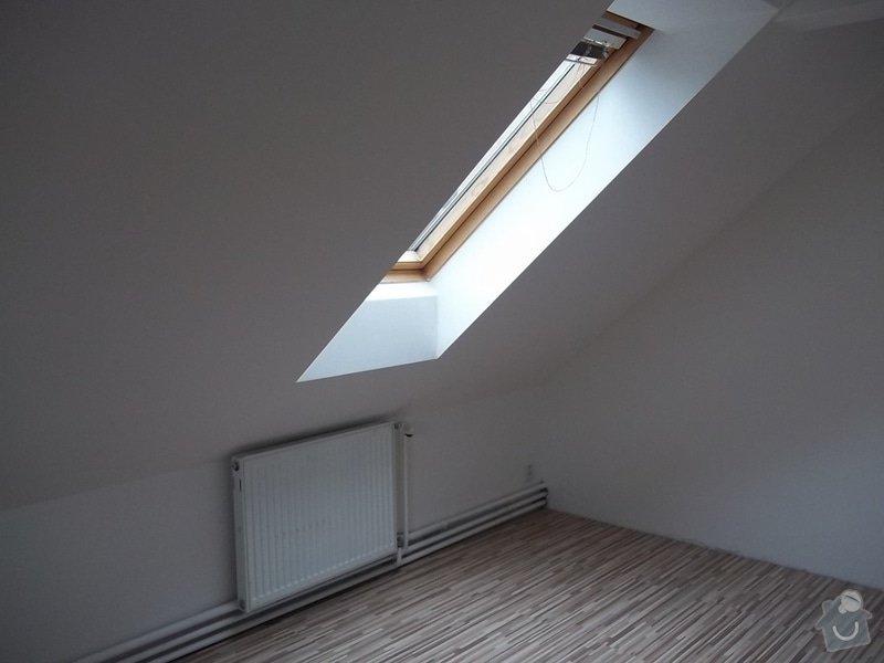 Rekonstrukce podkrovního pokoje: 104_0429