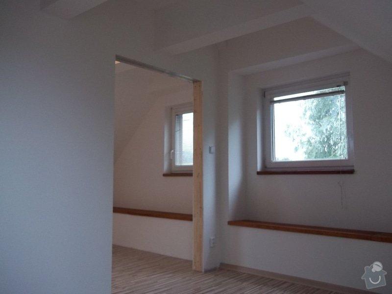 Rekonstrukce podkrovního pokoje: 104_0436
