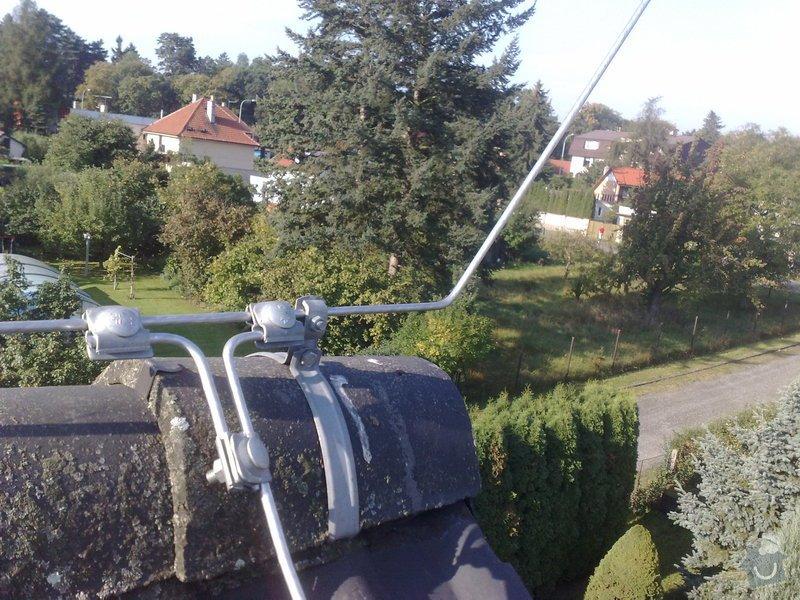 Montáž nového HROMOSVODU + zemnicí síť + revize: 27092011884