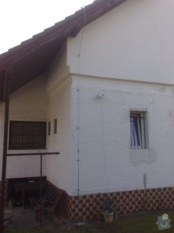 Montáž nového HROMOSVODU + zemnicí síť + revize: 27092011885