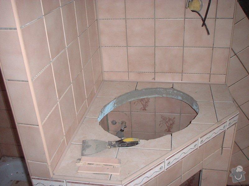 Rekonstrukce koupelny: DSCF0001
