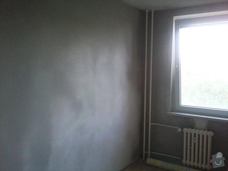 Renovace omítek,štuky v 1 pokoji v panelovém bytě : Fotografie142