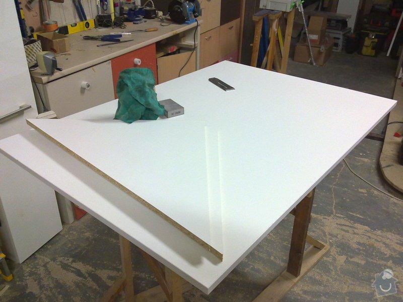 Výroba atypického stolu ve tvaru střechy: 19092011229