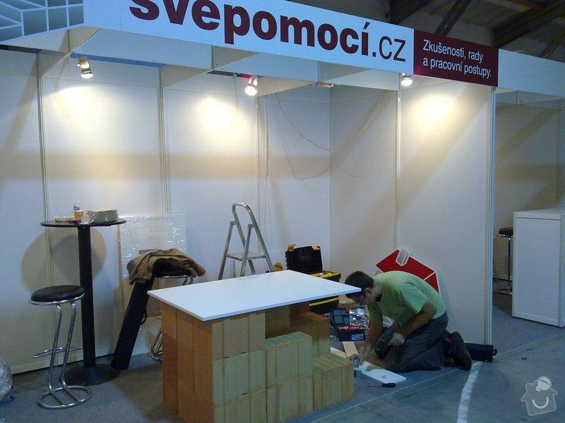 Výroba atypického stolu ve tvaru střechy: 20092011241