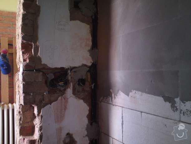 Elektroinstalační práce v bytě 1+1: DSC00505