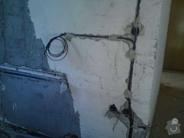 Elektroinstalační práce v bytě 1+1: DSC00507