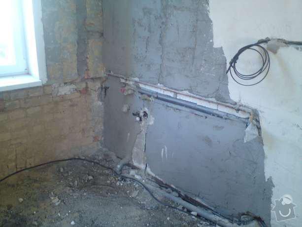 Elektroinstalační práce v bytě 1+1: DSC00508