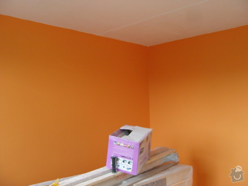 Štukování a vymalování čtyř pokojů : SNV81620