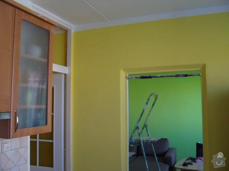 Štukování a vymalování čtyř pokojů : SNV81624