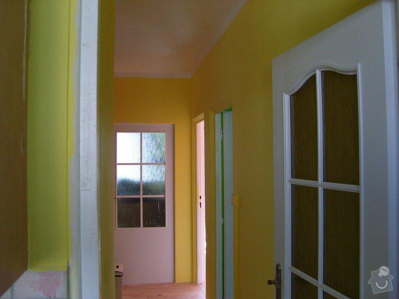 Štukování a vymalování čtyř pokojů : SNV81626
