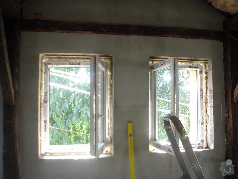 Sadrokartony a zednické práce: P8260343