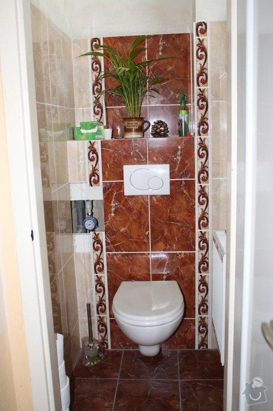 Rekonstrukce koupelny a wc: IMG_1634