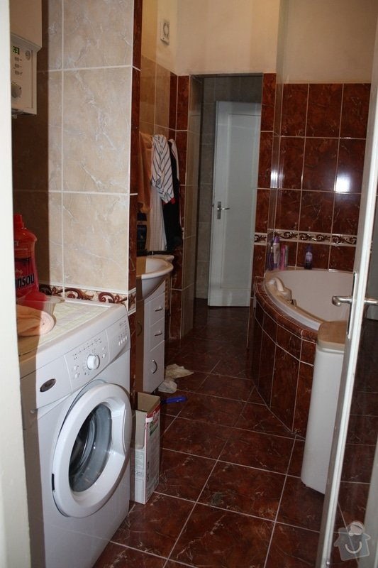 Rekonstrukce koupelny a wc: IMG_1635