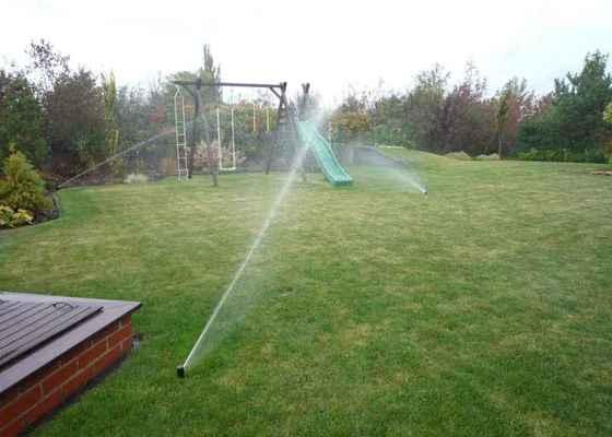 Automatické závlažování zahrady