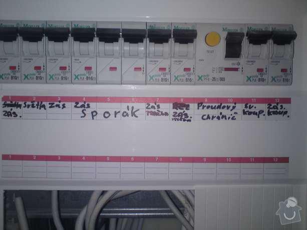 Rekonstrukce elektroinstalace v bytě: DSC00621