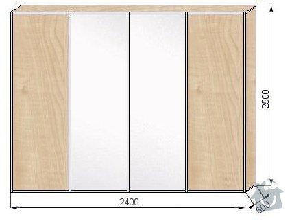 Vestavěná skříň: skrin2a